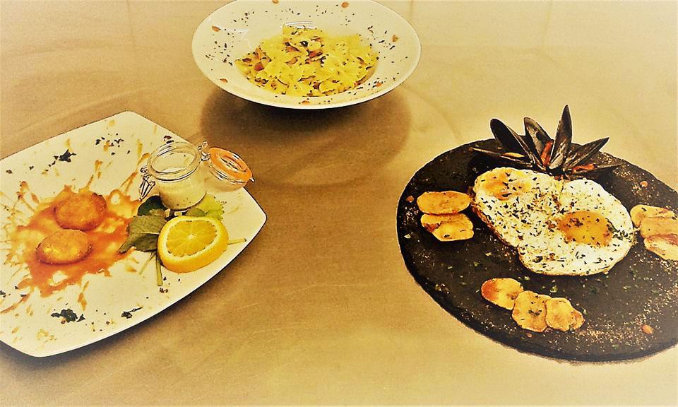 Menù a base di uova Ristorante La Persiana, Livorno