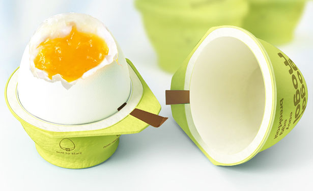 Gogolo Mogol Egg, packaging per uova innovativi