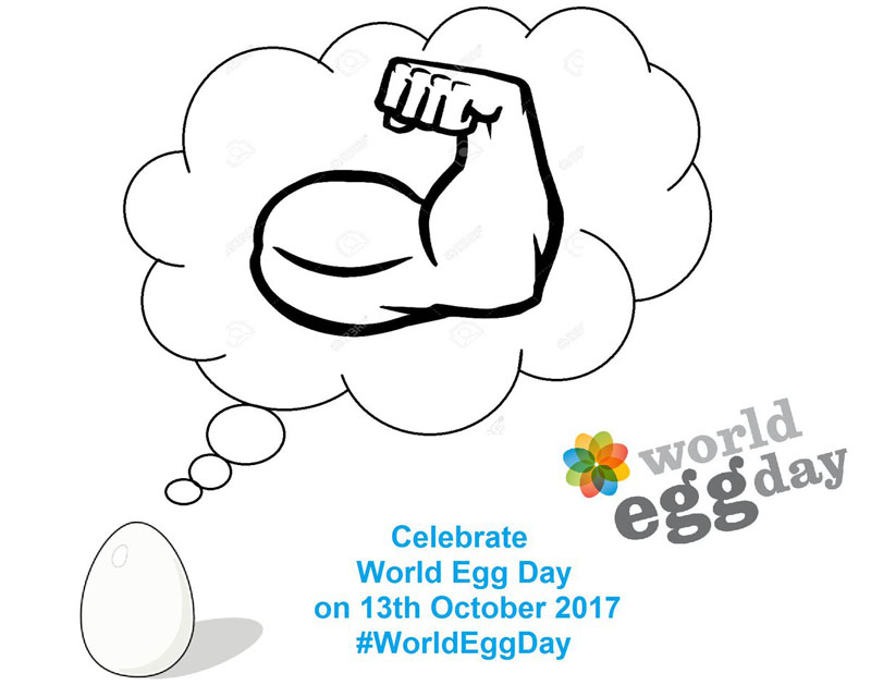 Grafica per il World Egg Day