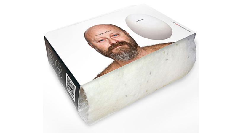 Il restyling del packaging delle 6 uova Paolo Parisi (con bio-tessuto in feltro pre-seminato)