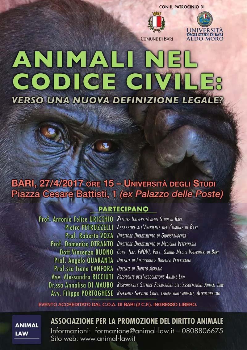 Il convegno organizzato dall'Associazione Animal Law per la presentazione della campagnacampagna #esserisenzienti