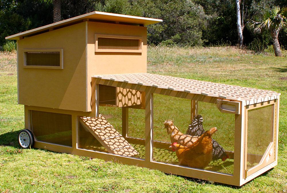 Pollaio mobile su ruote modelli e confronto prezzi galline pollaio ricette con uova e - Casas para gallinas ...