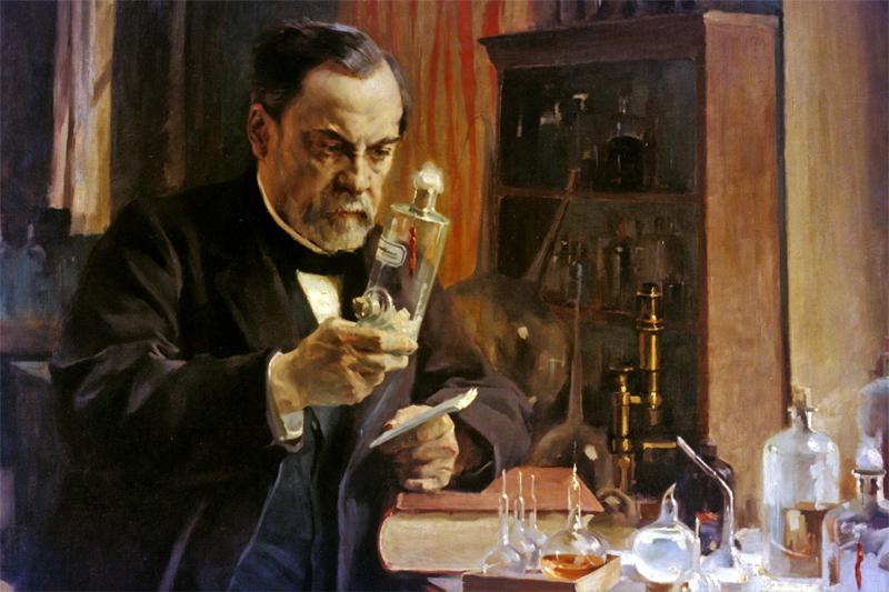 Ritratto di Louis Pasteur, inventore della pastorizzazione