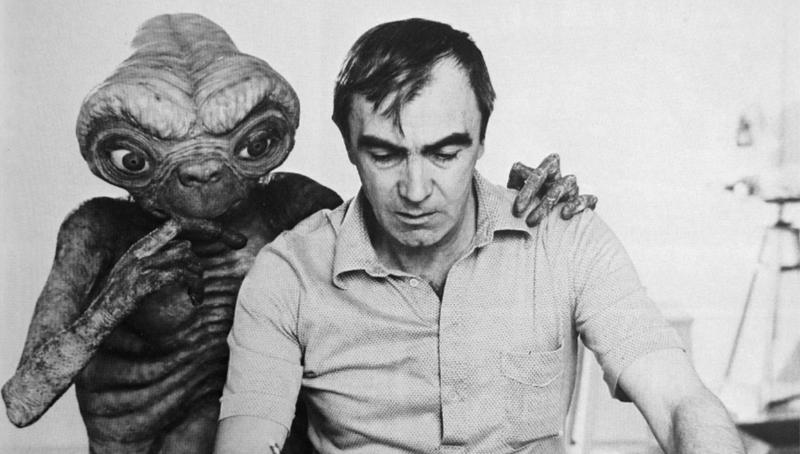Carlo Rambaldi ed E.T.