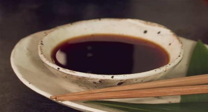 Tentsuyu come tradizionale accompagnamento al tempura