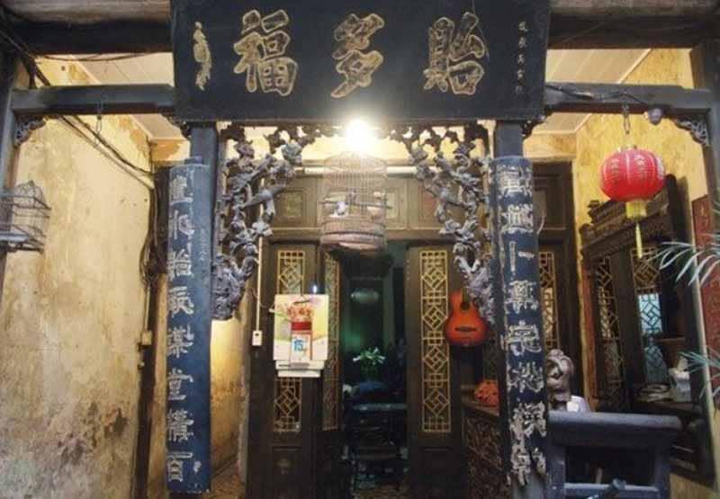 Uno dei tipici caffè storici di Hanoi dove è possibile gustare il Vietnamese Egg Coffee