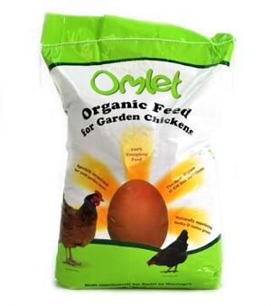 Mangime organico (biologico) per galline ovaiole Omlet 10 kg