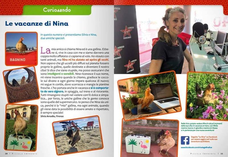 Una delle tante pubblicazioni che raccolgono informazioni sulla vita della Nina con Silvia Amodio