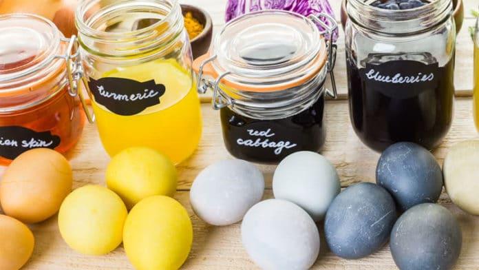 Come realizzare uova dipinte a mano con colori naturali | Tuttosullegalline.it