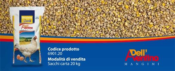 Coco Bio, mangime biologico per galline ovaiole Linea Cocodè 20 kg