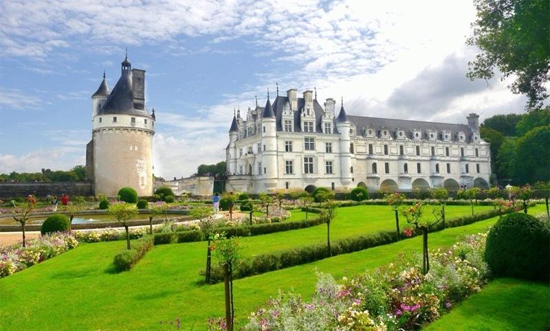 Il castello di Chenonceau, Loira