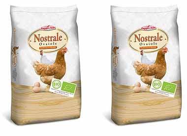 Mangime biologico Raggio di Sole Nostrale Ovaiole NATUROVO BIO 20 kg (farina e sbriciolato)