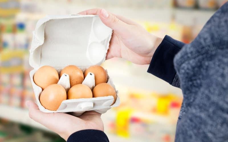 Colore del guscio delle uova che si acquistano al supermercato
