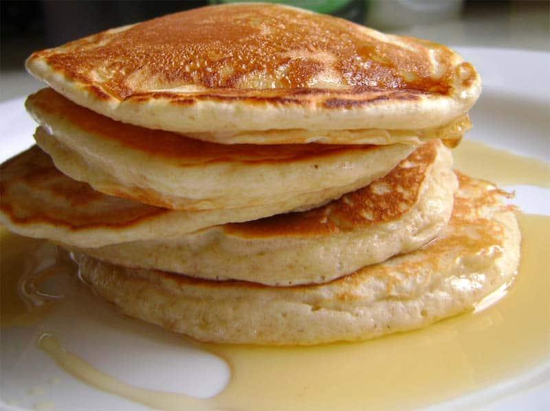 Pancake e sciroppo d'acero