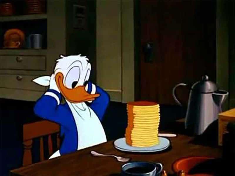 Zio Paperino e i suoi pancake