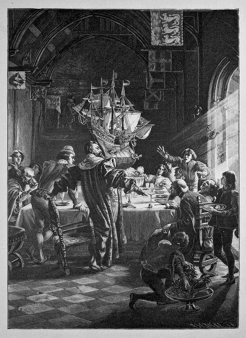 Die Gartenlaube - Leo Reiffenstein (1885)