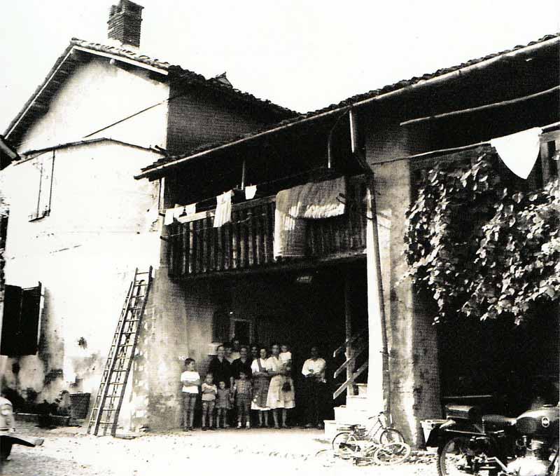 """Cascina Morganti detta """"I Masè"""" (Tregasio): casa dei nonni e luogo di nascita della madre di Maurizio Tona (foto: Maurizio Tona)"""
