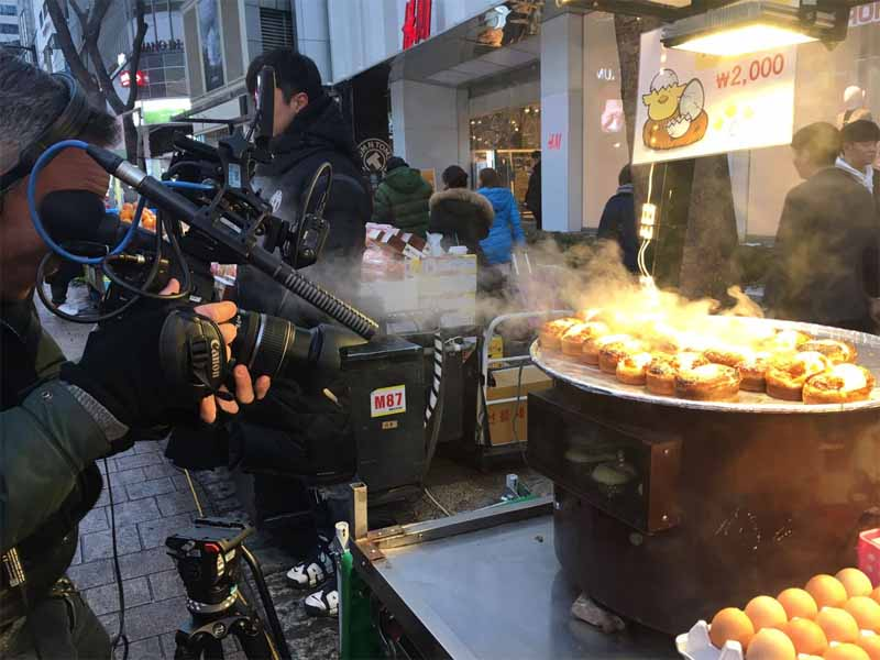 gyeran-ppang come street food coreano