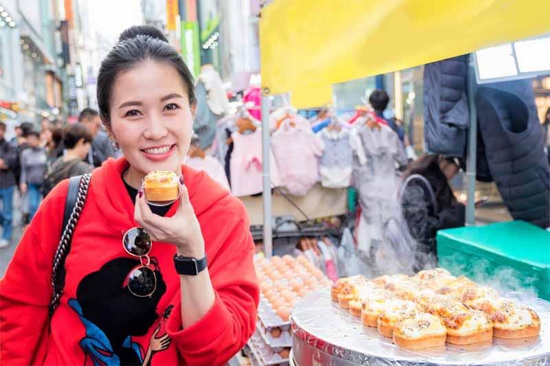 Lo street food coreano con ilgyeran-ppang