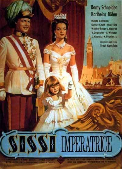 """Una locandina del film """"L'imperatrice Sissi"""""""