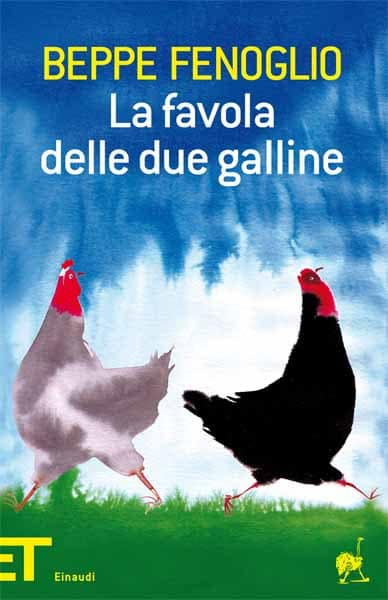 La favola delle due galline (copertina del libro illustrata da Alessandro Sanna)