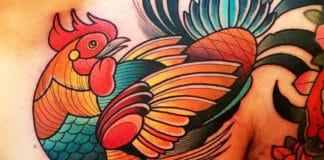 Tatuaggi di galli e galline | Tuttosullegalline.it