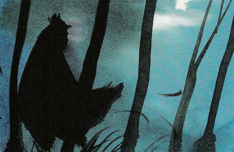 La favola delle due galline (illustrazione Alessandro Sanna).