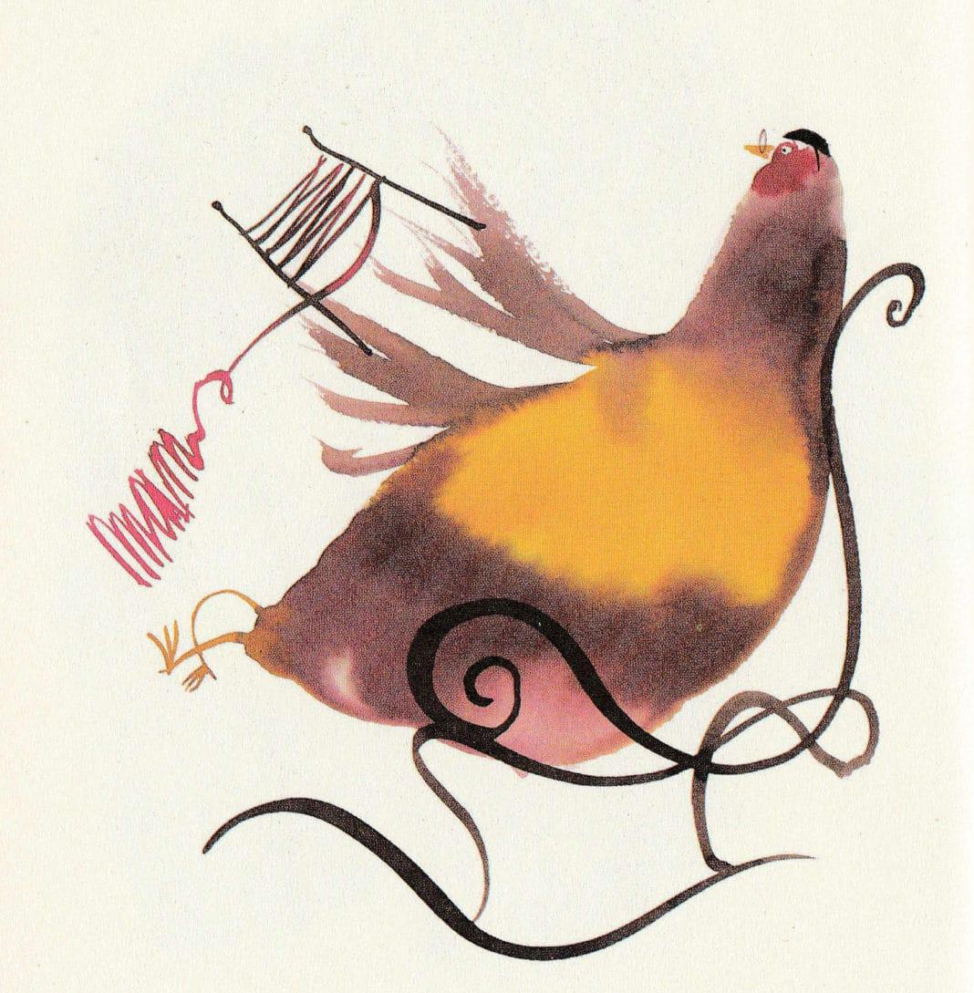 La Pepa - La favola delle due galline (illustrazione Alessandro Sanna).