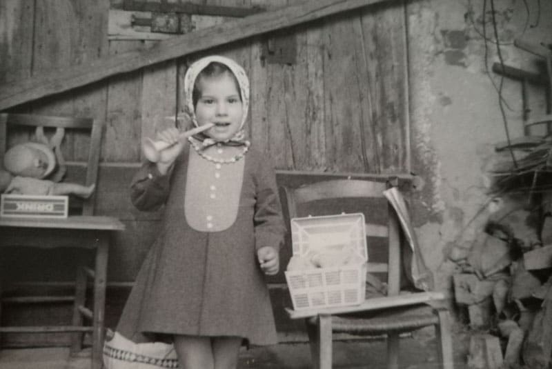 Maddalena Brunasti: infanzia a Monselice (1967)
