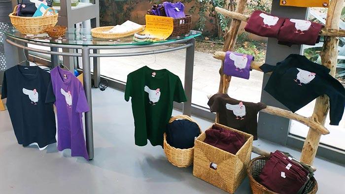 t-shirt e magliette della linea Tuttosullegalline.it