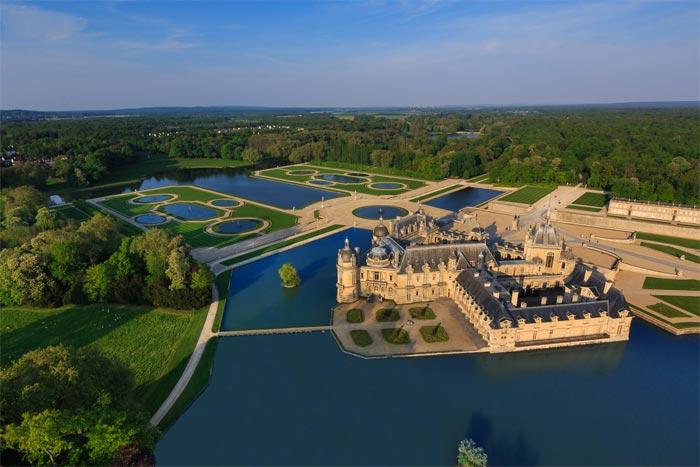 Il sontuoso castello di Chantilly