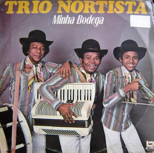 La copertina di un disco del Trio Nortista (inventori dell'originale Pulcino Pio)