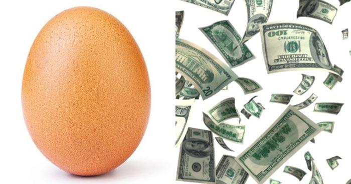 ritorni economici dell'uovo da record