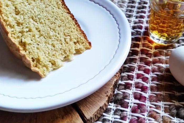 Torta Bocca di Dama, ricetta con uova di Paolo Ciolli
