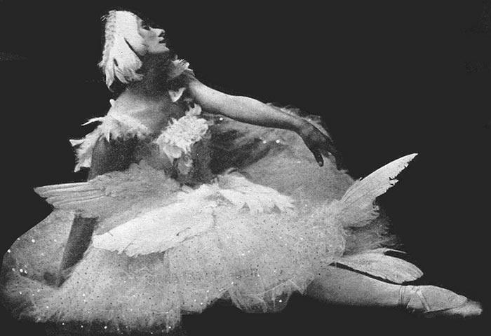 Anna Pavlova - La morte del cigno (1907)