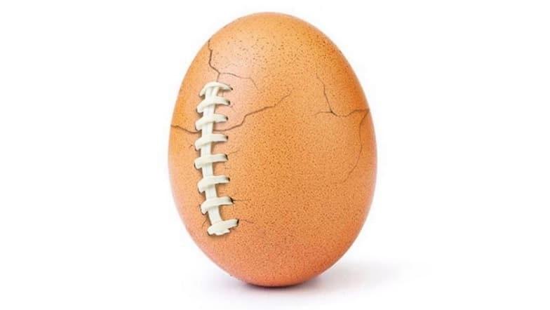 Uovo dei record su Instagram
