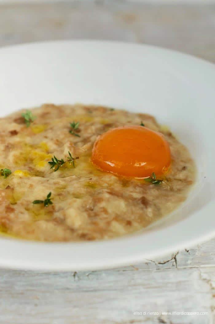 panada veneta con uovo, ricetta di Elisa di Rienzo