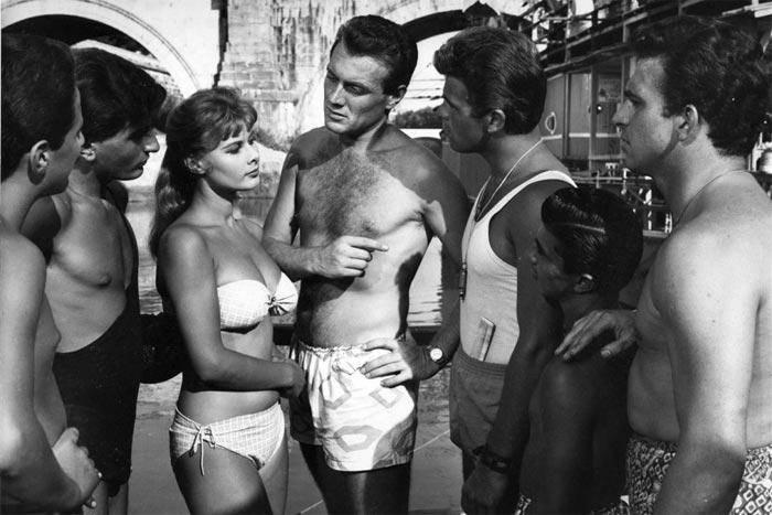 Scena del film di Dino Risi Poveri ma belli e buoni (1957)