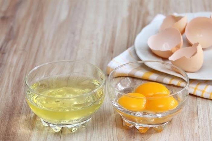 Uova, composte da guscio, albume e tuorlo