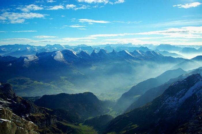 Gli splendidi complessi montani di Appenzell