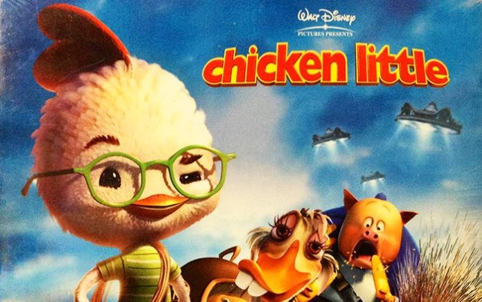 Chicken Little, le due versioni