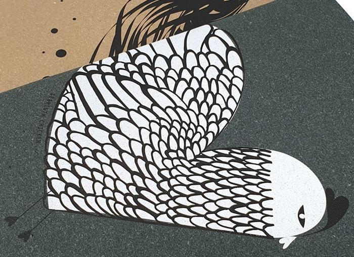Copertine sovrapposte dei quaderni della linea Chicken Collection