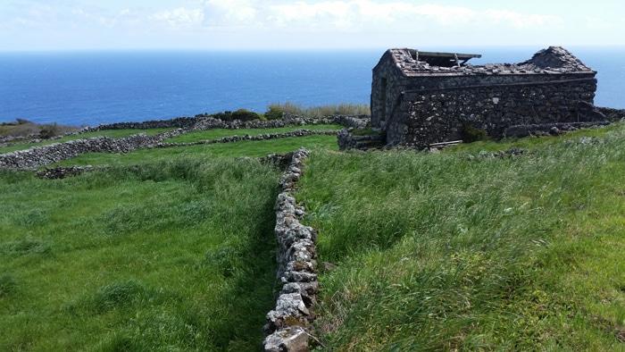 Il verde e il blu dell'Isola di Corvo (Azzorre)