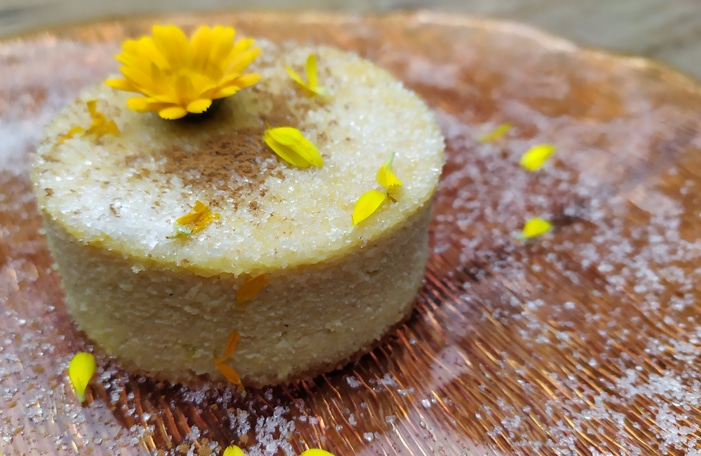 Pudding in porzione singola