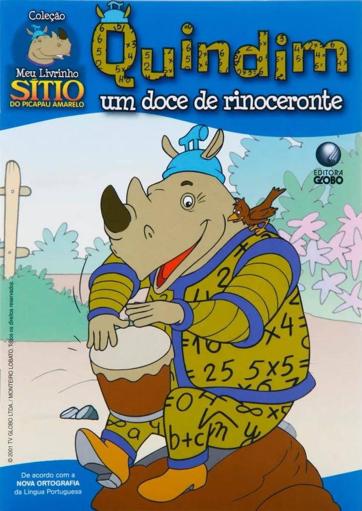 Quindim, il dolce rinoceronte (personaggio di un libro illustrato per bambini)