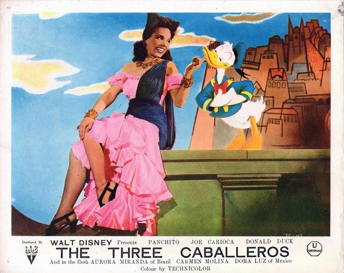 Os Quindins de Yayà, I tre caballeros, Disney