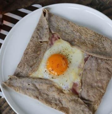 Galette Bretonne, crêpe salata con grano saraceno (ricetta tipica della Bretagna)   Tuttosullegalline.it