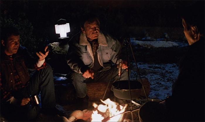 """Spock, Kirk, and McCoy in modalità """"marshmallow da campeggio"""" allo Yosemite National Park"""