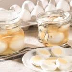 Uova in salamoia d'aceto (pickled eggs) e uova sott'olio: 7 ricette selezionate | Tuttosullegalline.it