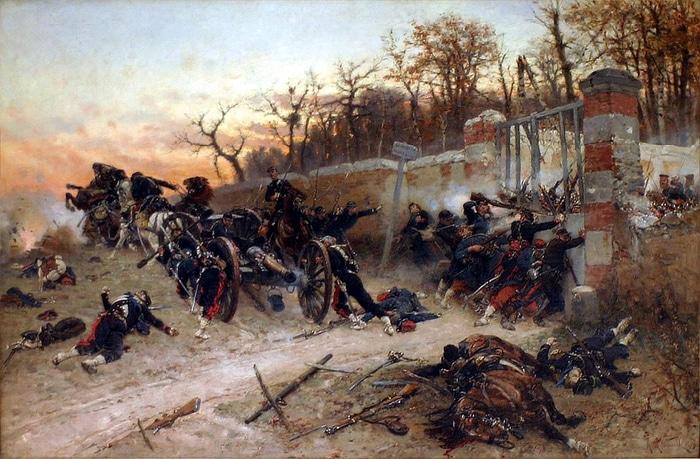Dipinto di Alphonse de Neuville, 1879